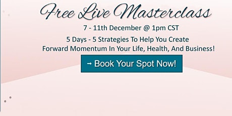 BossUp and THRIVE 5-Day Free Masterclass to help you thrive! tickets