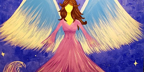 Winter Angel Paint and Sip  $35pp tickets