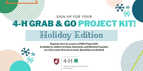 Holiday Edition 4-H Grab and Go Project Kit tickets