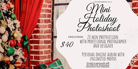 Mini Holiday Photoshoot tickets