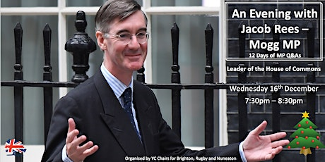 12 Days of MP Q&As with Jacob Rees-Mogg MP tickets