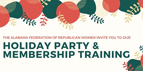 AFRW's Holiday Party and Membership Training tickets