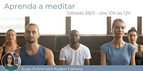 Aprenda a Meditar ingressos