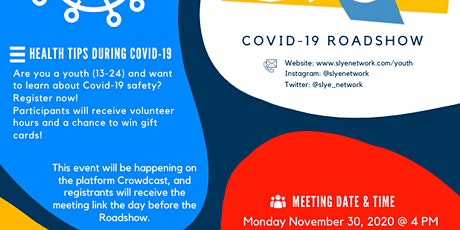 Online Roadshow: Tips to Stay Healthy During COVID-19 tickets