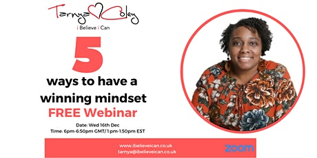 5 ways to have a winning mindset tickets