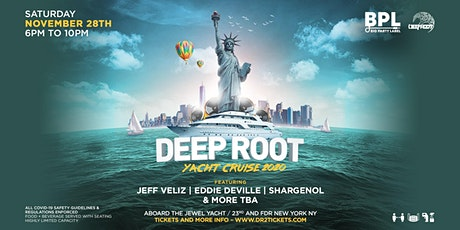 Deep Root Cruise On The Jewel  ~ NYC tickets
