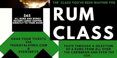 The RUM Class tickets