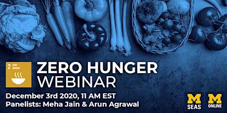 Zero Hunger tickets