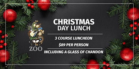 Christmas Day Lunch at Zoo Bar tickets