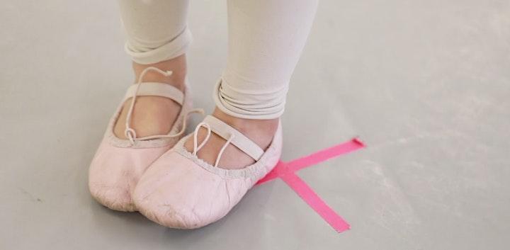 pink petal ballet 3-4yrs / mondays mar 29-jun 21 / 11:45am-12:15pm image