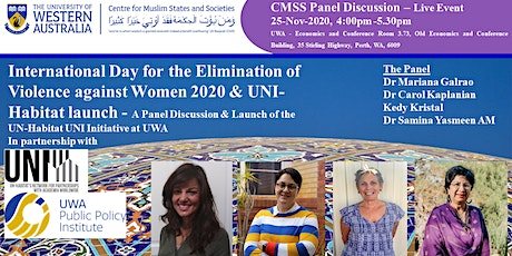 CMSS x UWA-PPI & UN Habitat UNI - The Elimination of Violence Against Women tickets