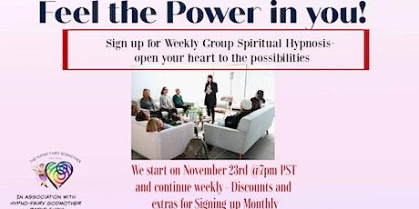 Group Spiritual Hypnosis Tickets