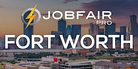 Fort Worth Virtual Job Fair August 26, 2021 tickets