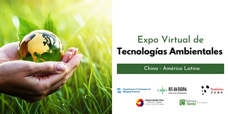 Expo Virtual de Tecnologías Ambientales. Zhejiang - Latinoamérica boletos