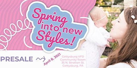 Kid's Closet Connection Adams Co. PA Spring 2021 PreSale!!!! tickets