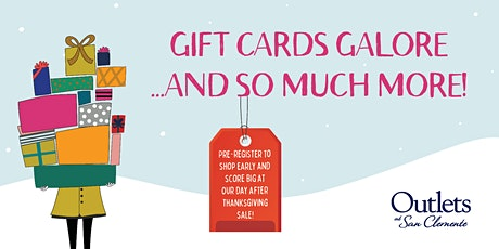 Gift Cards Galore! tickets