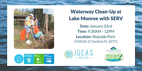 Clean Up at Lake Monroe tickets