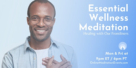Free Live Meditation for Essential Workers tickets