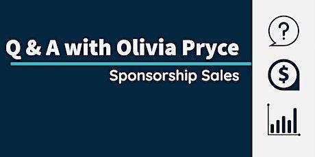 Q & A on Sponsorship Sales tickets