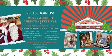 Merry and Bright Christmas Festival tickets