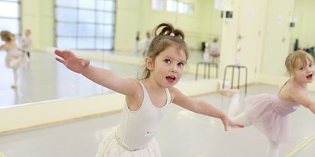 pink petal ballet 2/3yrs (+adult) / tues jan 5-mar 9 / 10-10:30am tickets