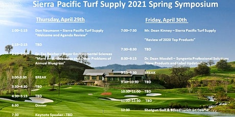 Sierra Pacific Turf Supply 2021 Spring Symposium tickets