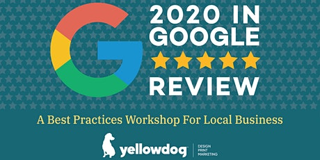 2020 IN GOOGLE REVIEW tickets