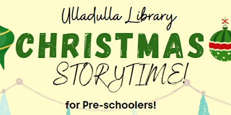 Christmas Storytime at Ulladulla Library tickets