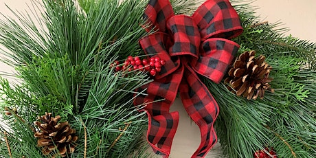 Evergreen Wreath Making Zoom and Bloom 7PM tickets