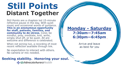 Still Points - Available tickets