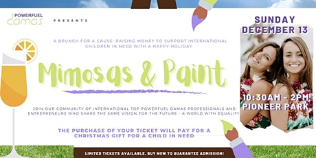 PowerFuel Damas Mimosas & Paint | A Brunch For a Cause tickets