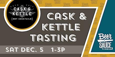 Cask  & Kettle Boozy K-Cup Tasting tickets