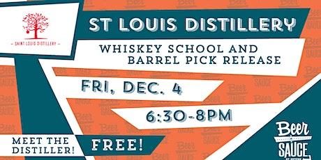 St. Louis Distillery Barrel Pick Releases & Tasting tickets