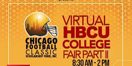 CFC HBCU 2020 Virtual Fair - The Sequel - College Reps Registration tickets