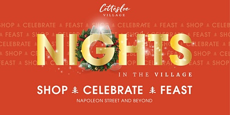 Cottesloe 's Nights in the Village Festive Shopping Experience tickets