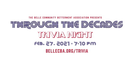 Through the Decades Trivia Night tickets