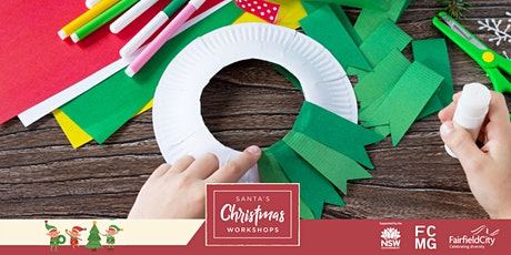 Santa's Christmas Workshop: Very Merry Christmas Wreaths tickets