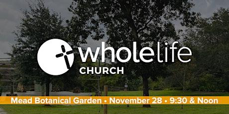 Mead Garden Worship Service - Nov. 28 tickets