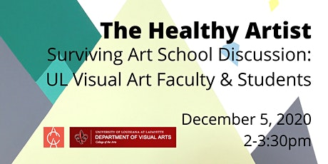 The Healthy Artist: Surviving Art School - Panel Discussion tickets