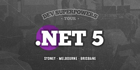 .NET 5 Superpowers - Melbourne tickets