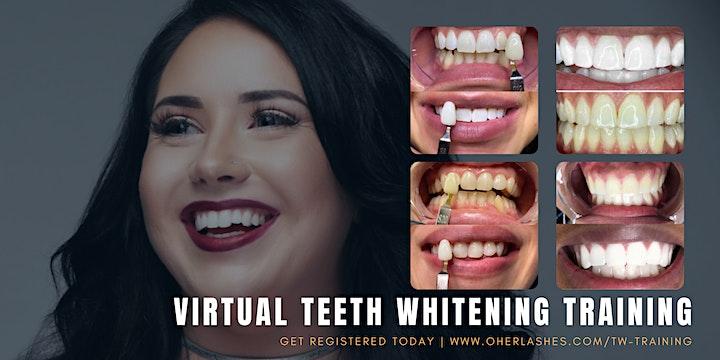 Teeth Whitening Training - Virtual image