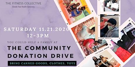 Community Donation Drive 11.21.2020 tickets