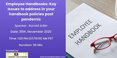 Employee Handbook Policies tickets