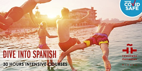 SPANISH BEGINNER COURSE  -  INTENSIVE 30 HOURS - A1.2 (031) tickets