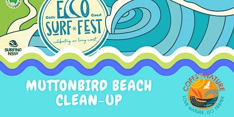 ECO SURF FEST Coffs By Nature - Muttonbird Beach Clean Up tickets