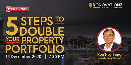 5 Steps to Double Your Property Portfolio tickets