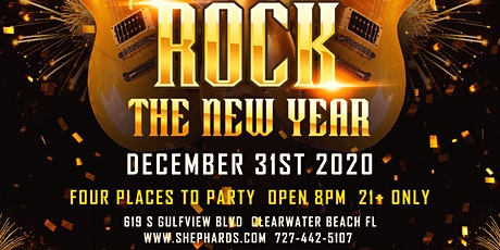 Shephard's Rock The New Year 2021 Party tickets