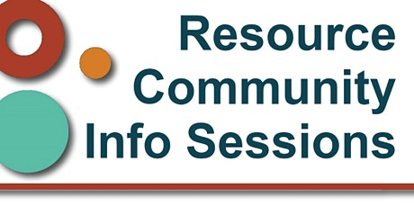 Online Resource  Community Information Session: Wide Bay and Burnett areas tickets