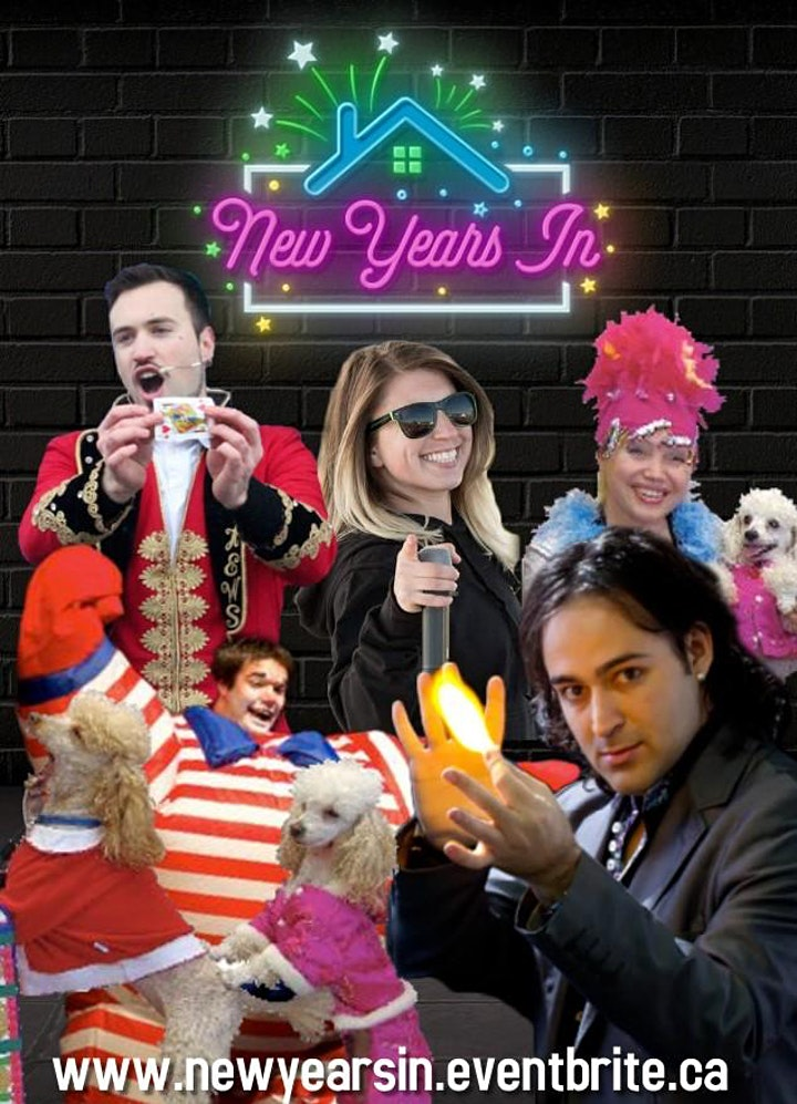 NEW YEARS IN - Virtual Family Party image