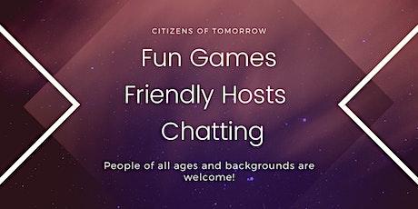 English Conversation  Corner (Virtual and Free) tickets
